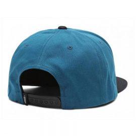 vans full patch snapback moroccan blue VN000QPU1QQ1