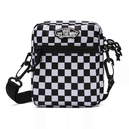 vans street ready II croosbody black white checker VN0A4BH156M