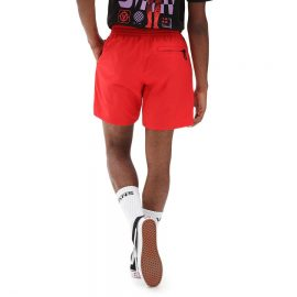 vans primary volley II boardshort high risk red VN0A49R54PV