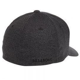 billabong all day flexfit black sapka