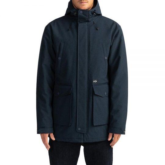 billabong alves parka kabát navy heather U1JK40