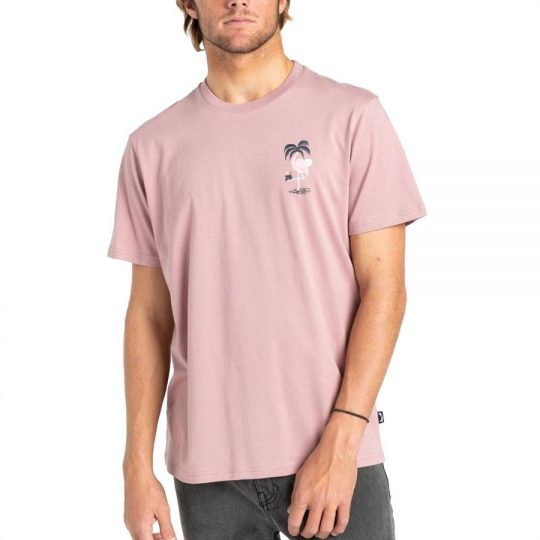 billabong paradise lost póló dusty pink Z1SS32 checkroom webshop