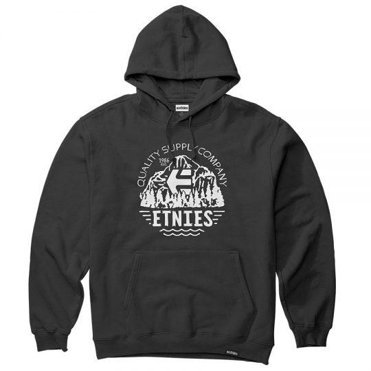 etnies mtn quality kapucnis pulóver black 4130003898